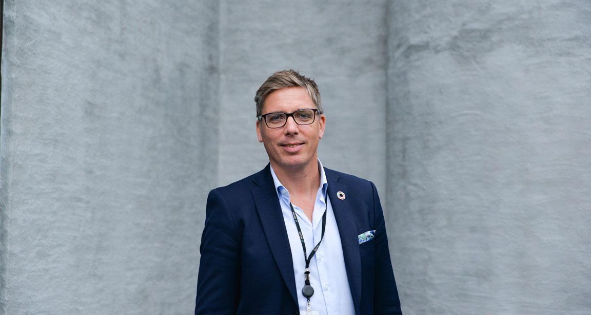 Arne Fredrik Håstein er konsernhovedtillitsvalgt og representant for Finansforbundets medlemmer i Storebrand.