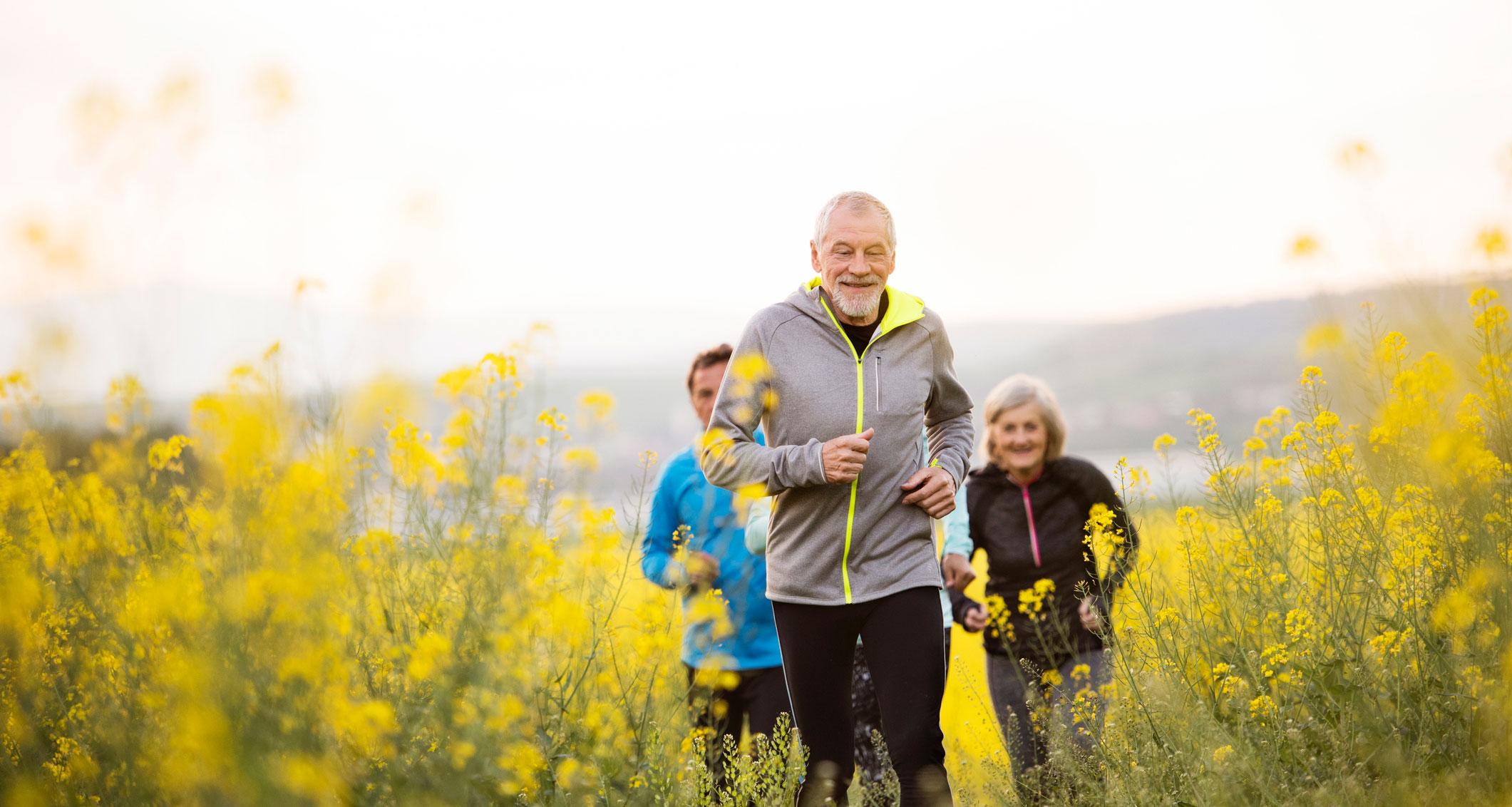 Mange pensjonister liker å løpe. Kanskje du blir en av dem?