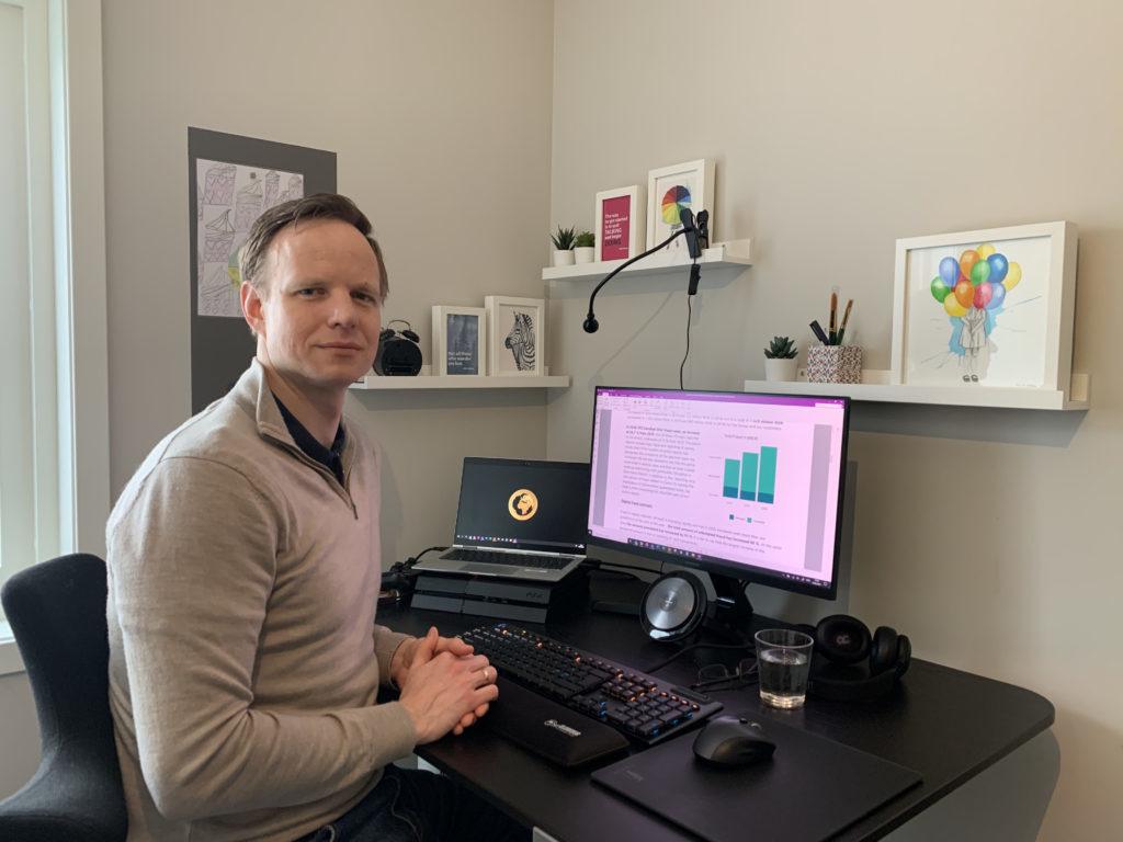 Terje Aleksander Fjeldvær. Han leder DNBs Financial Cyber Crime Center (FC3).